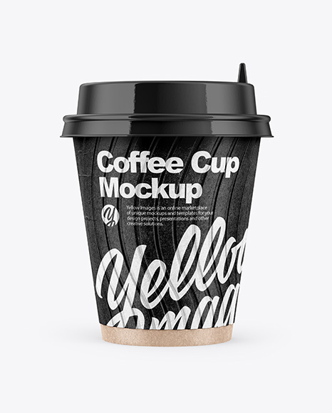 Download Paper Coffee Cup Mockup Free Yellow Images