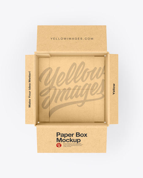 Download Mockup Packaging Paper Yellowimages