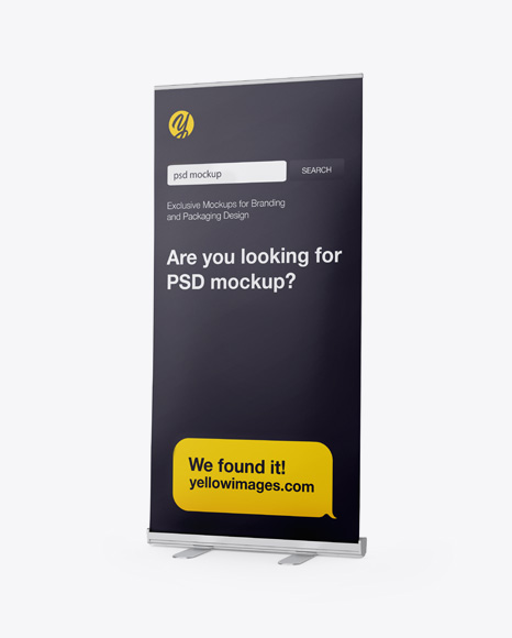 Download Rollup Mockup Free Yellowimages