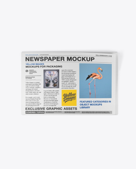 Download Mockups Newspaper Yellowimages