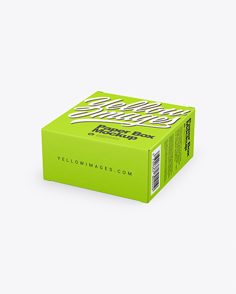 Download Box Cardboard Mockup Yellowimages