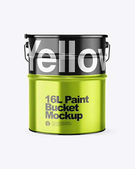 Download 16l Glossy Paint Bucket Psd Mockup Yellowimages