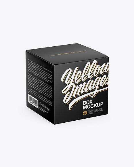 Download Glossy Lip Gloss Bottle Box Psd Mockup Yellowimages