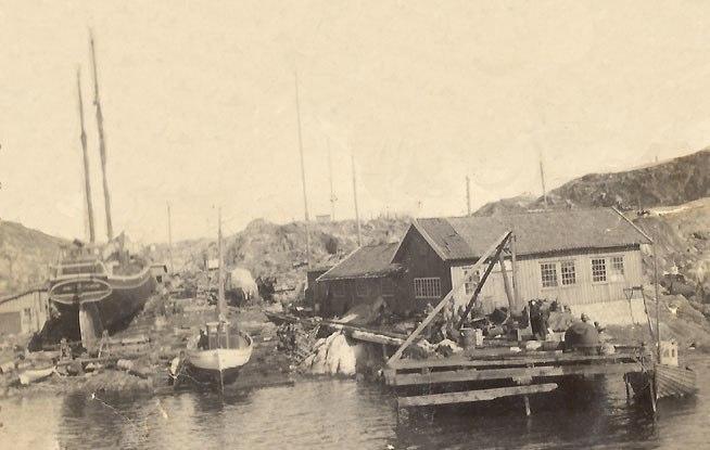 Skärhamns slip 1940-talet