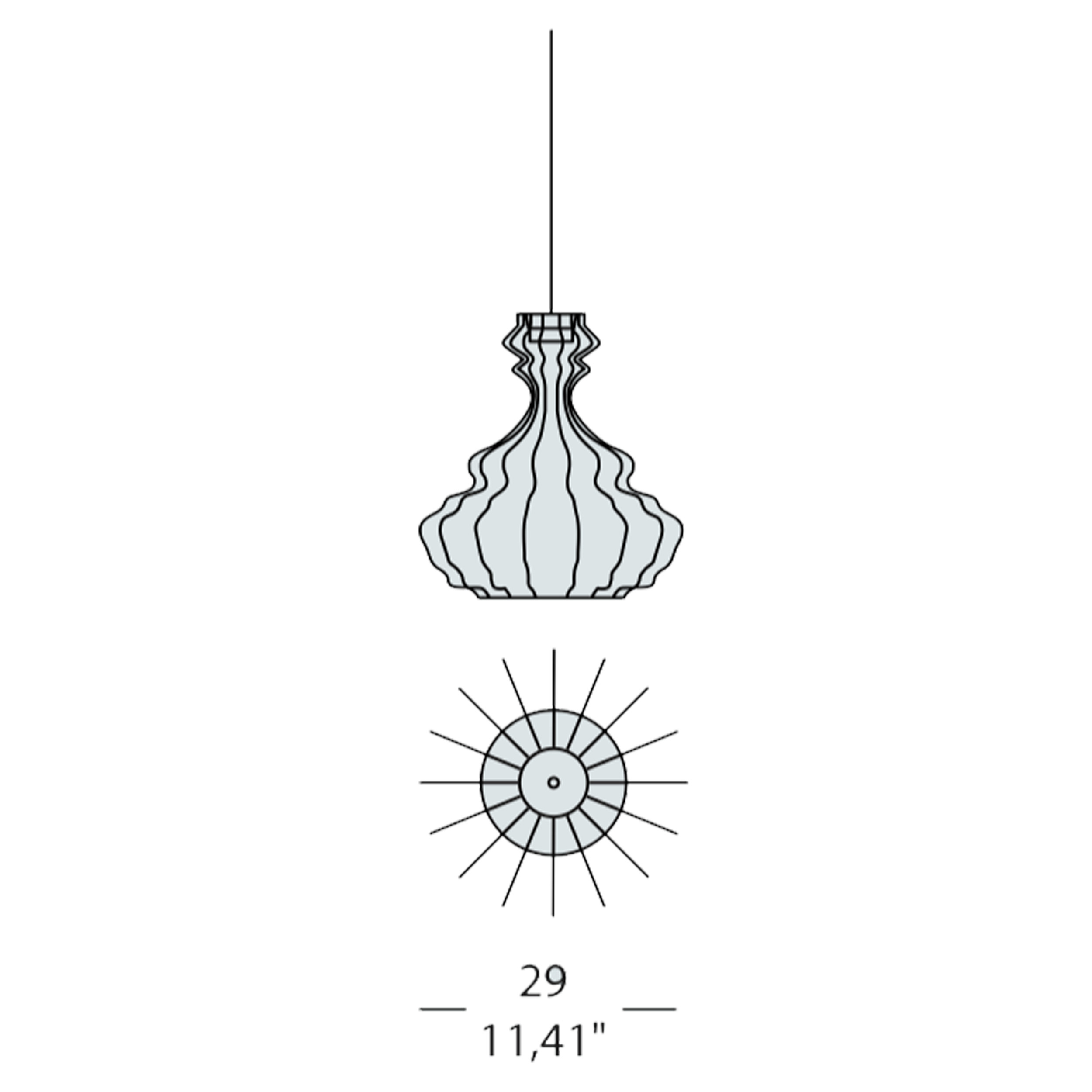 Bia Corinto Small Pendant Light