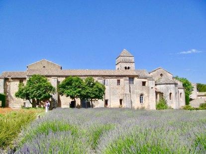 Saint-Paul-de-Mausole asylum in St-Rémy-de-Provence