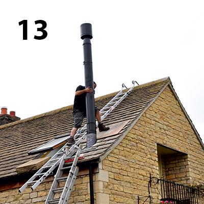 Seldek Nulead Roof Flue Flashing Ing Instructions