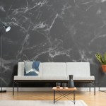 Black Marble Wallpaper Mural Murals Wallpaper