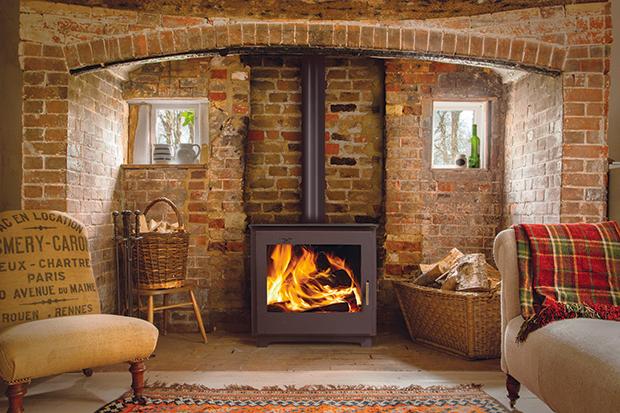Stratford wood burning boiler stove from Arada