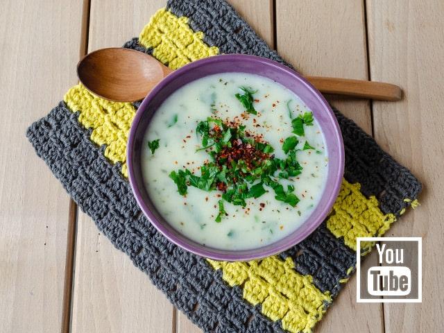 Kremalı Patates Çorbası