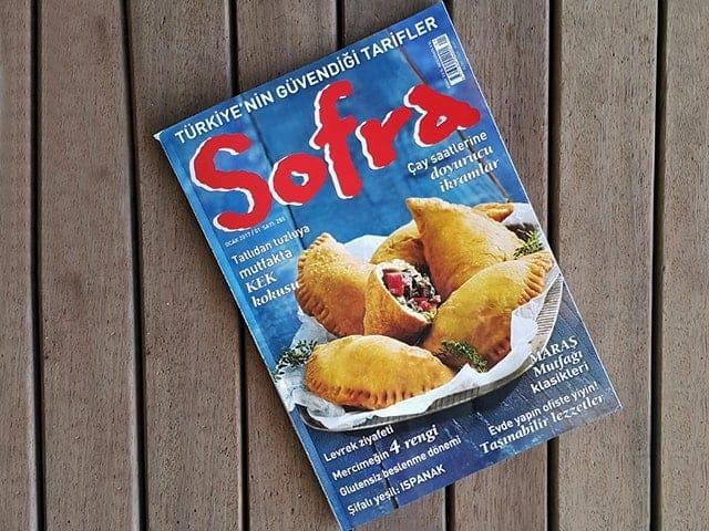 Sofra Dergisi Ocak Sayısındayım