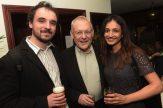 Luke Beardsworth, Gary Newbon and Sanjeeta Bains