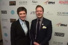 Verity Stokes and Mike Colledge