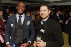 Yoje Kikanka and Mitchell Hunt from Barclays