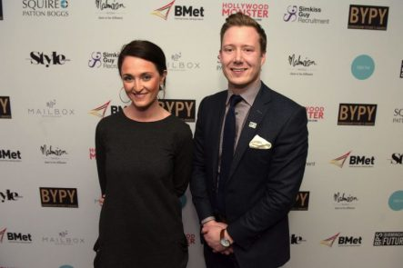 Rebecca Hayes and Mike Colledge