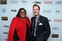 Tara Tomes and BYPY Chair Mike Colledge