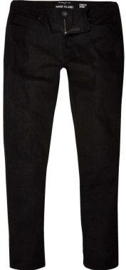 Sid black skinny jeans, £30, River Island