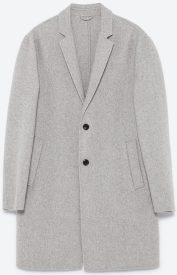 Wool coat, £79.99, Zara