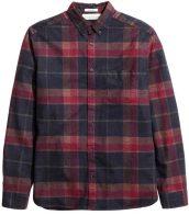 Cotton flannel shirt, £19.99, H&M