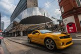Cineworld 6 - Bumblebee outside Grand Central Station