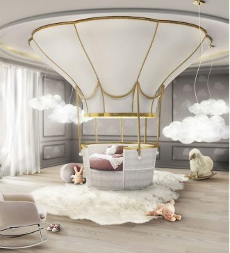 Fantasy Air Balloon Bed £29,000