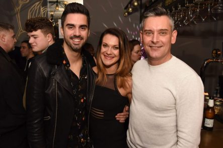 Rob Howard, Gemma Hill and Andrew Riley