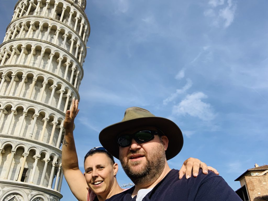 Holding up the Learning Tower of Pisa