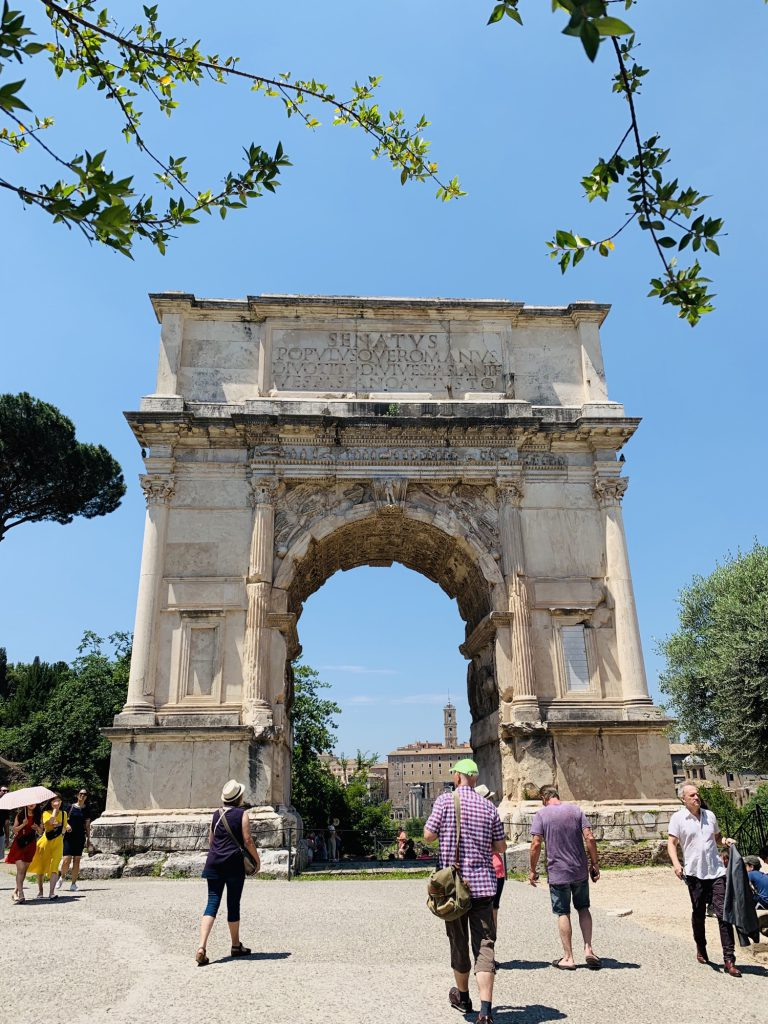 Roman Gate at the Forum Rome
