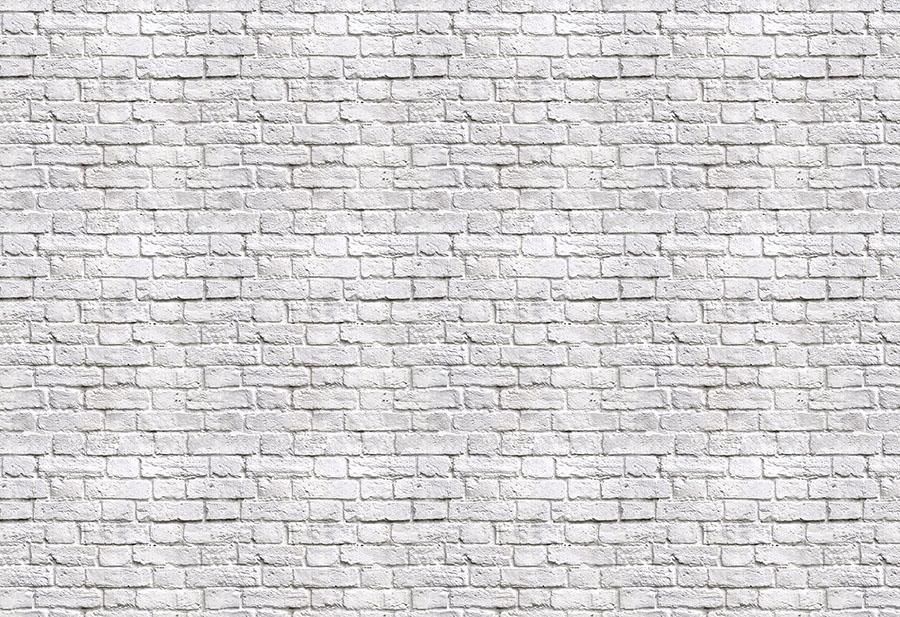 White Brick effect wallpaper wall mural design