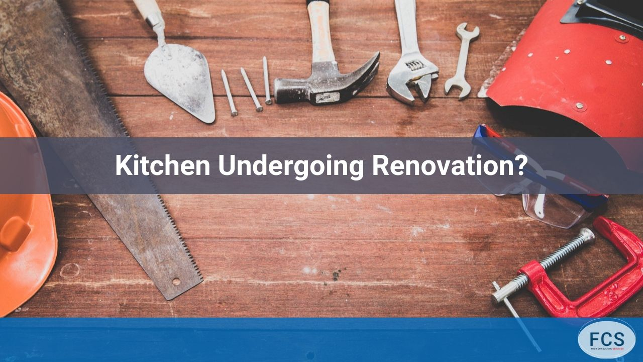 kitchens undergoing renovations