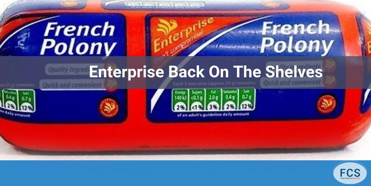 enterprise back on the shelves