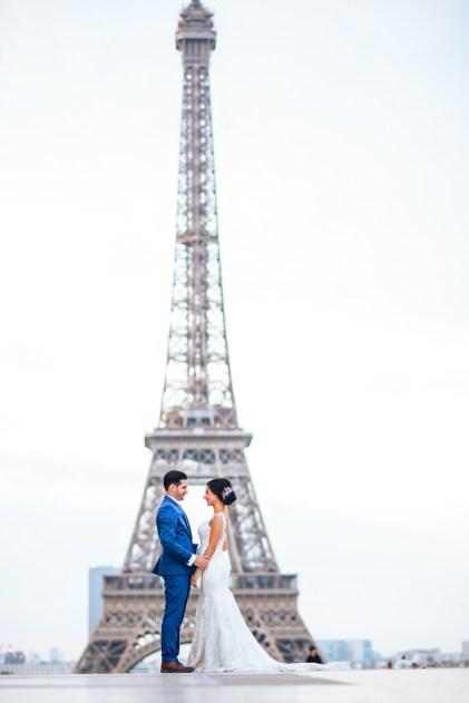 Свадебный фотограф в Париже.
