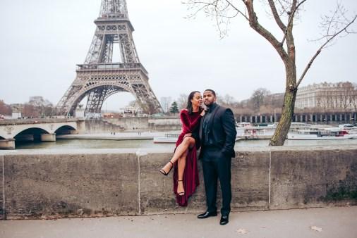 Фотосессия love story в Париже. Эйфелева башня