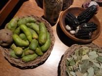 patates vertes et coca