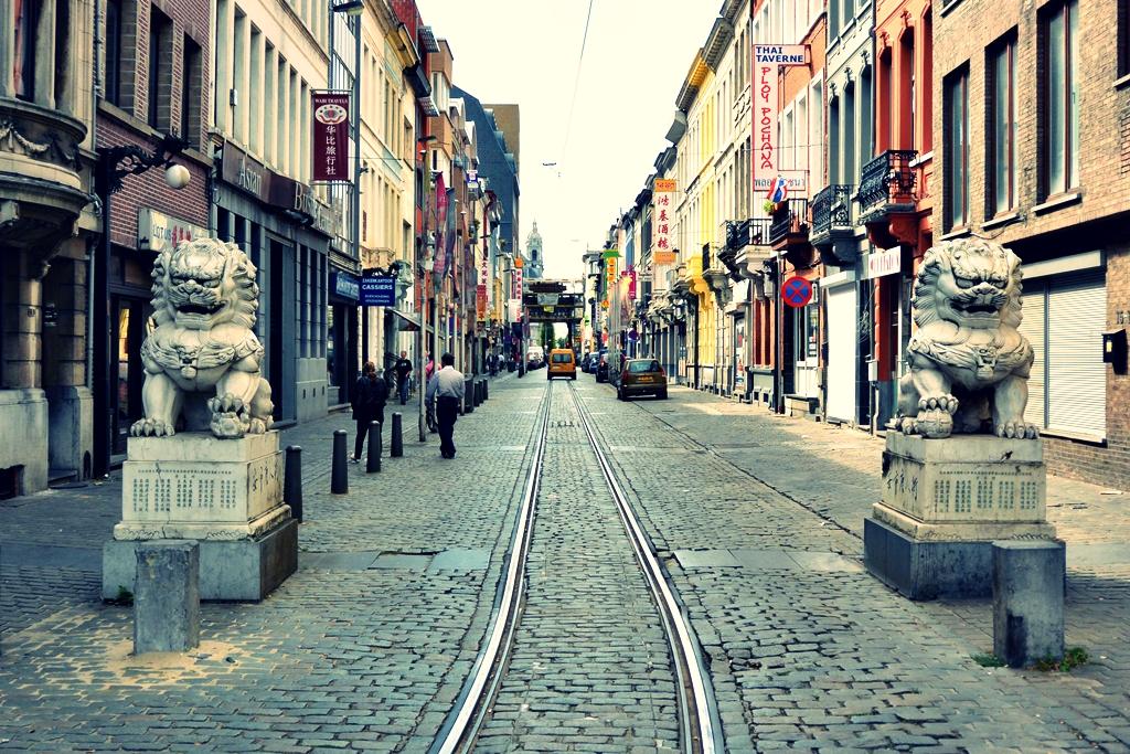 Staycation in Antwerpen - chinatown