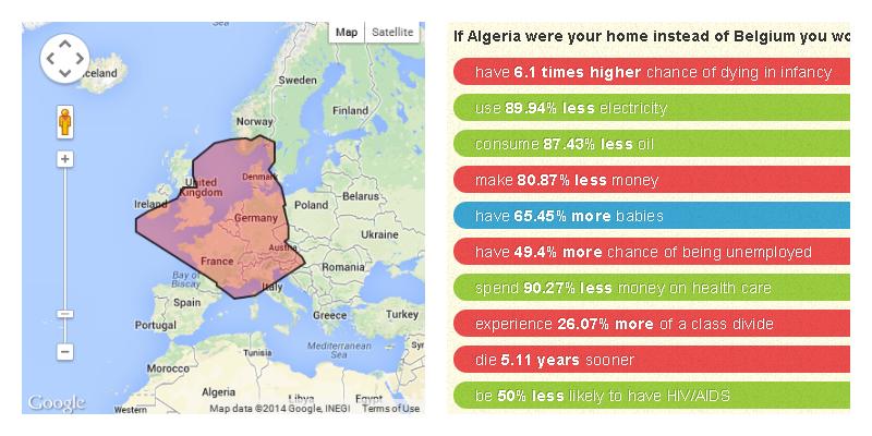 Is België nu echt zo klein? - Tjoolaard