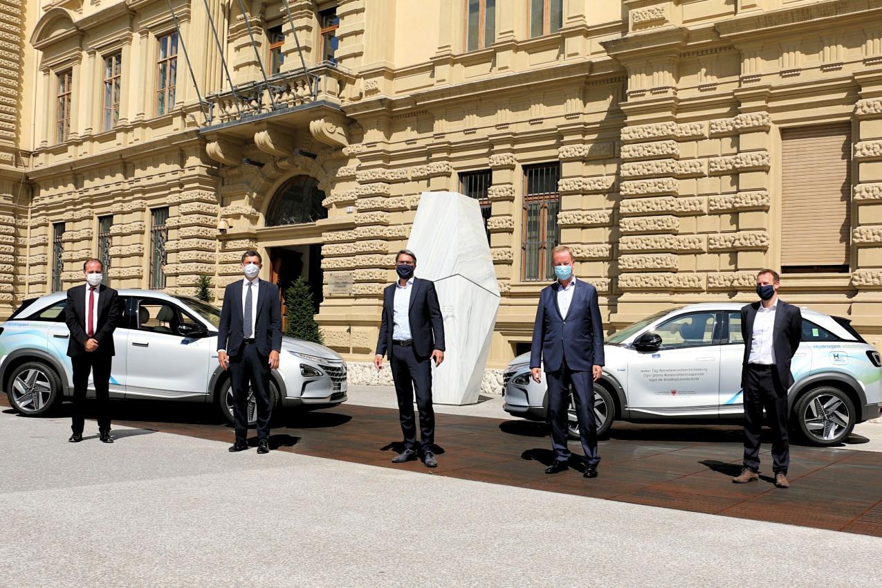 Südtirol mit Masterplan Wasserstoff: Mobilität und Energie nachhaltig entwickeln