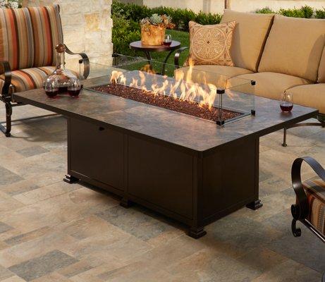 yard art patio fireplace 6407