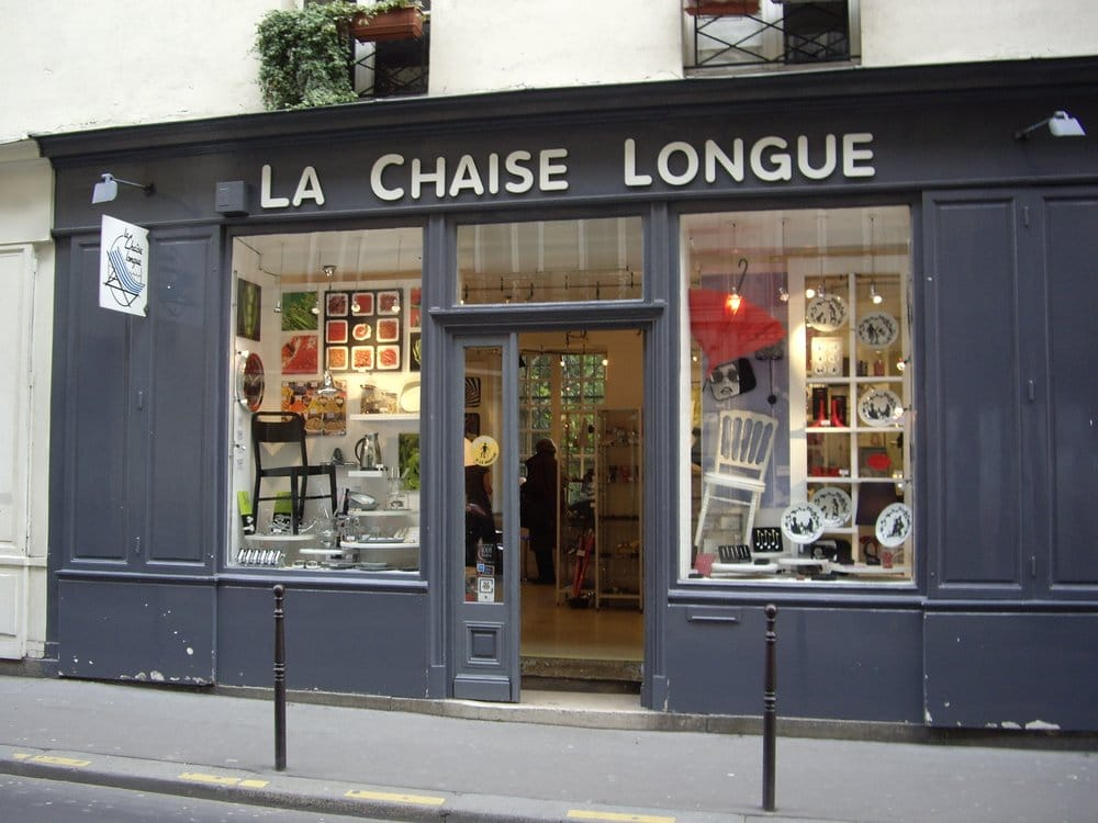 la chaise longue magasin similaire