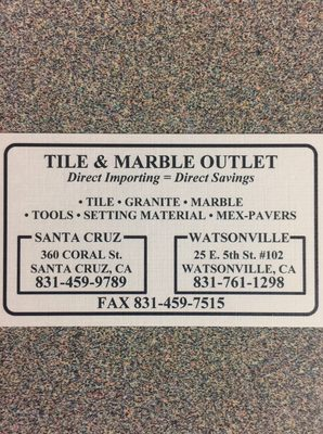 tile and marble outlets 360 coral st