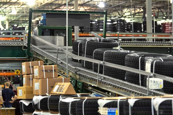 tire rack headquarters and distribution