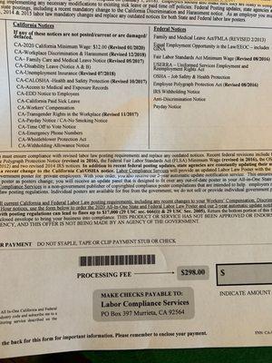 california labor compliance 11601