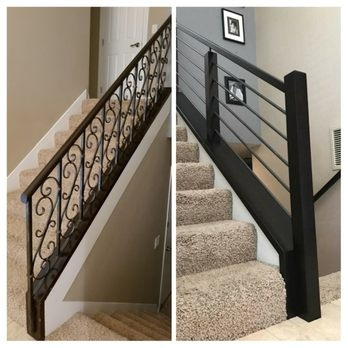 Pike Stair Company 72 Photos 45 Reviews Contractors   Staircase Renovation Near Me   Flooring   Diy Staircase Makeover   Wood   Stair Case   Paint