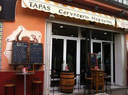 Resultado de imagen de cerveceria la mezquita sevilla flamenquin