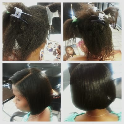 damage hair after weave sew in was removed before and after yelp