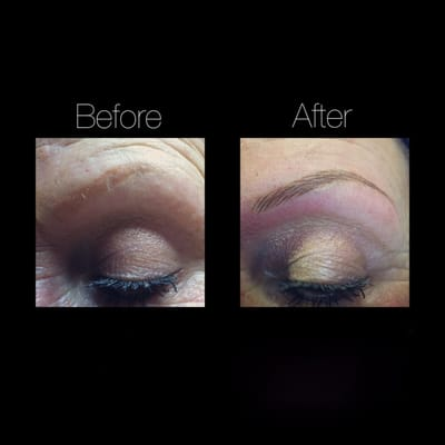 semi permanent makeup cosmetic tattoo hair stroke eyebrow embroidery by joanne yelp