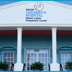 Nicklaus Children's Miami Lakes Outpatient Center - Yelp