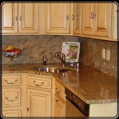 Granite countertops w/ a full granite backsplash! - Yelp on Best Backsplash For Granite Countertops  id=28273