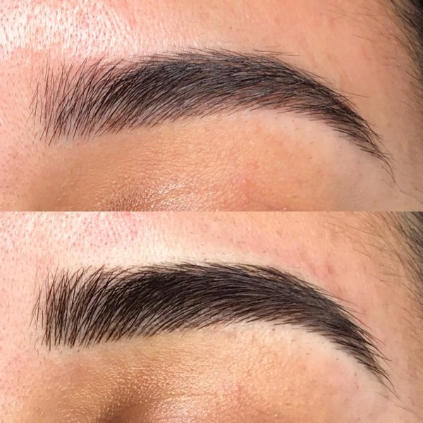Top Picture: 4-6 weeks after first 3D Microblading ...