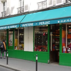 photo of papeterie perjac paris france